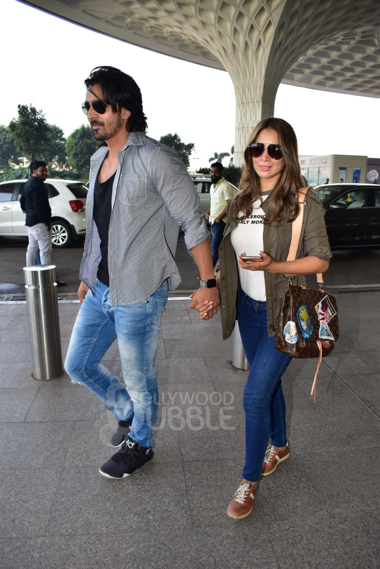 Harshvardhan Rane and Kim Sharma