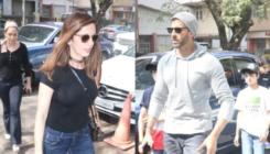 Pics: Hrithik Roshan on a luncheon date with ex-wife Sussanne and kids