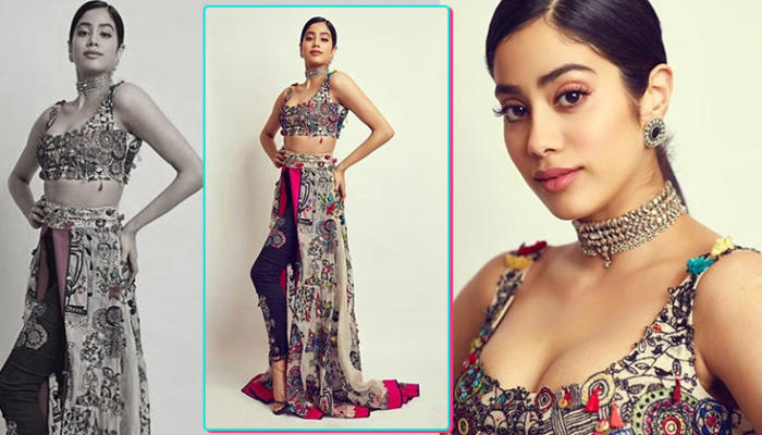 OOTD: Janhvi Kapoor glams up with this boho outfit