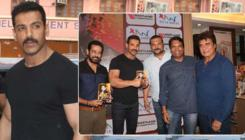 In Pics: John Abraham launches Annup Sonii's book: 'Crime Patrol'