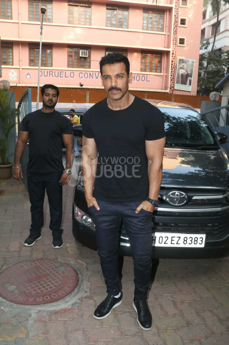 John Abraham was looking quite dapper