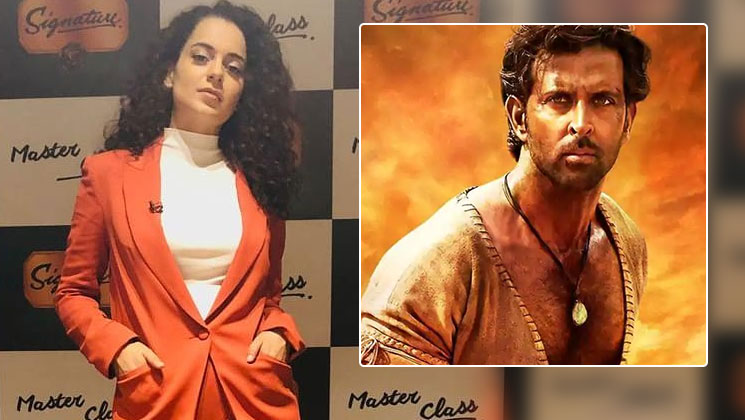 """Who has seen that film?"" says Kangana when asked about 'Manikarnika's dialogue being similar to Hrithik's 'Mohenjo Daro'"