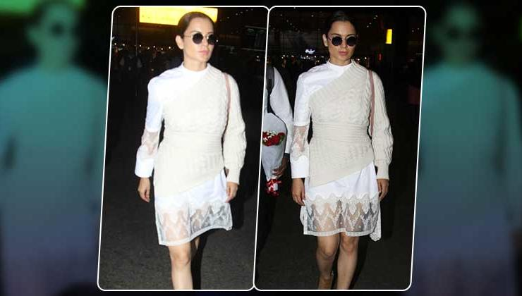 In Pics: Kangana Ranaut slays her airport look like a boss!