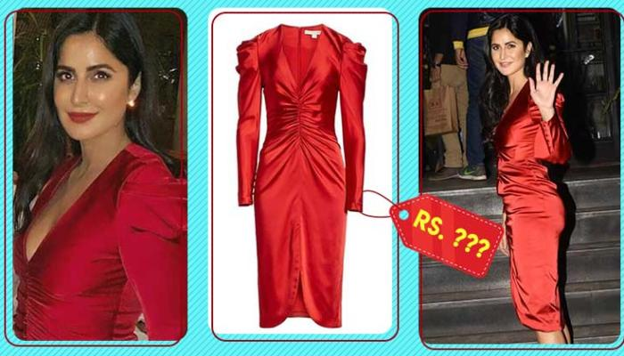 The cost of Katrina Kaif's Red Jonathan Simkhai Dress will blow your mind