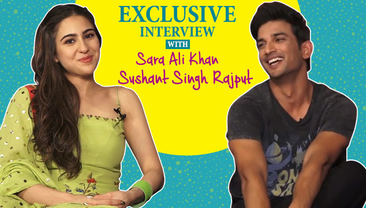 Sara Ali Khan and Sushant Singh Rajput's candid interview for their film 'Kedarnath'