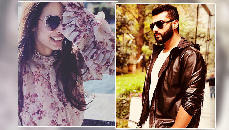 Malaika shares a 'take me back' picture; here's how Arjun reacted