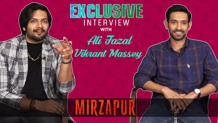 Exclusive: Ali Fazal and Vikrant Massey talk about the their show 'Mirzapur'