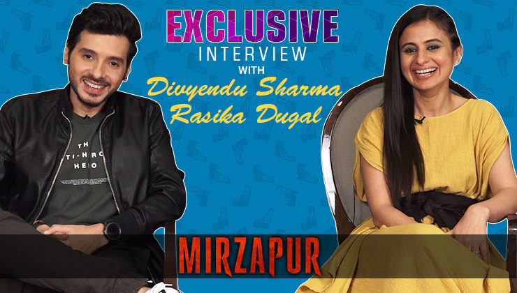 Divyendu Sharma and Rasika Dugal talk about their super successful show 'Mirzapur'