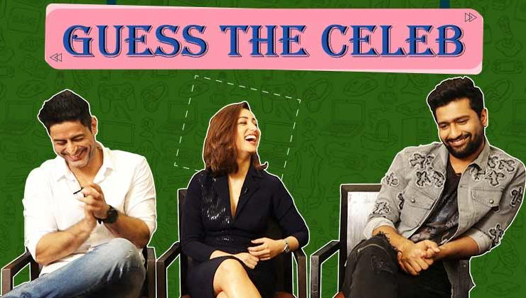 Vicky Kaushal, Yami and Mohit Raina indulge in a game of 'Guess The Celeb'