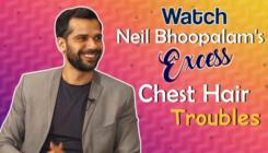 Neil Bhoopalam's excess chest hair troubles on sets of 'Four More Shots Please'