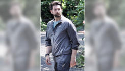 Neil Nitin Mukesh has the cutest visitor on the sets of his film 'Bypass Road', view pics