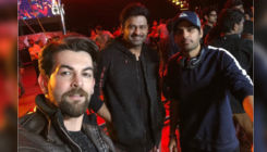 Neil Nitin Mukesh shares photo with Prabhas from the sets of 'Saaho'