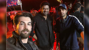 Neil Nitin Mukesh Shares Prabhas Photo
