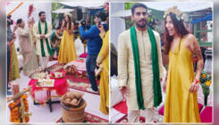 Prateik Babbar and Sanya Sagar's mehendi and haldi ceremony pictures are pure love