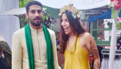 In pics: Prateik Babbar marries longtime girlfriend Sanya Sagar
