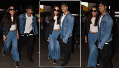 In Pics: Prateik Babbar and Sanya Sagar make their first public appearance as a married couple