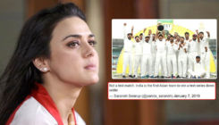 Preity Zinta gets trolled for making error in congratulatory tweet to Indian cricket team