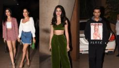 In Pics: Janhvi Kapoor, Ananya Panday, KJo and others attend Punit Malhotra's bash