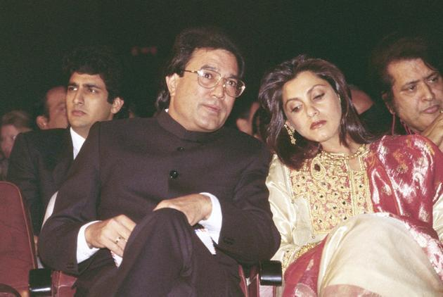 Rajesh Khanna and Dimple Kapadia