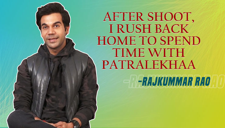 Rajkummar Rao's candid confession about girlfriend Patralekhaa