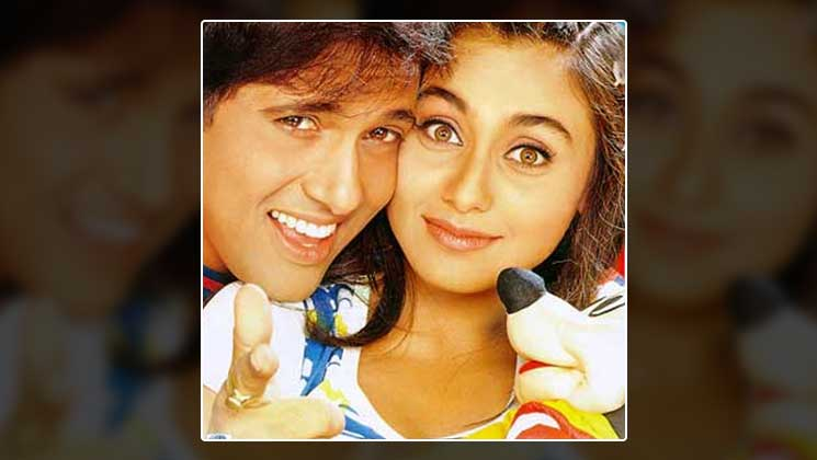 Govinda and Rani Mukerji