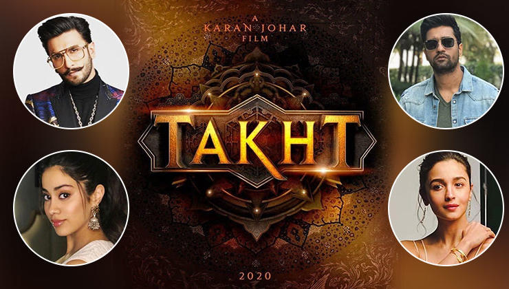 EXCLUSIVE: Ranveer, Alia, Vicky and Janhvi-who'll romance whom in 'Takht'? Deets inside