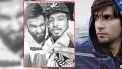 'Gully Boy' Ranveer Singh poses for a super cool pic with Indian rapper Naezy