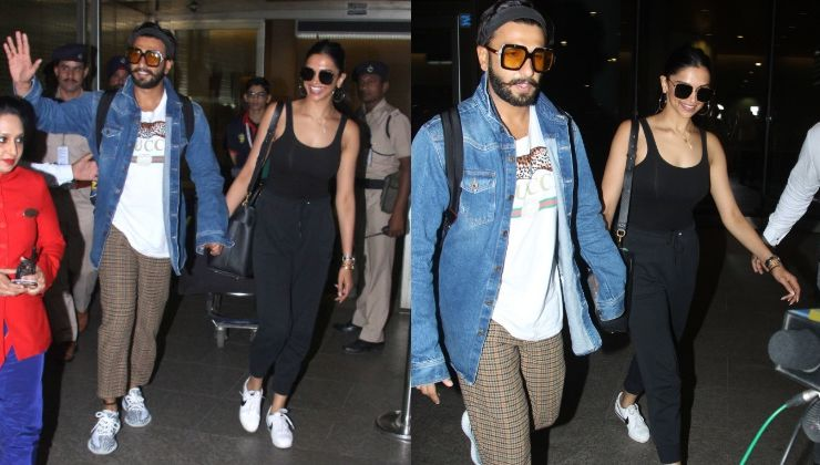 In Pics: Ranveer and Deepika are back in the bay as they return from their honeymoon