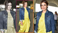 OOTD: Raveena Tandon is like a ray of sunshine in this dhoti jumpsuit