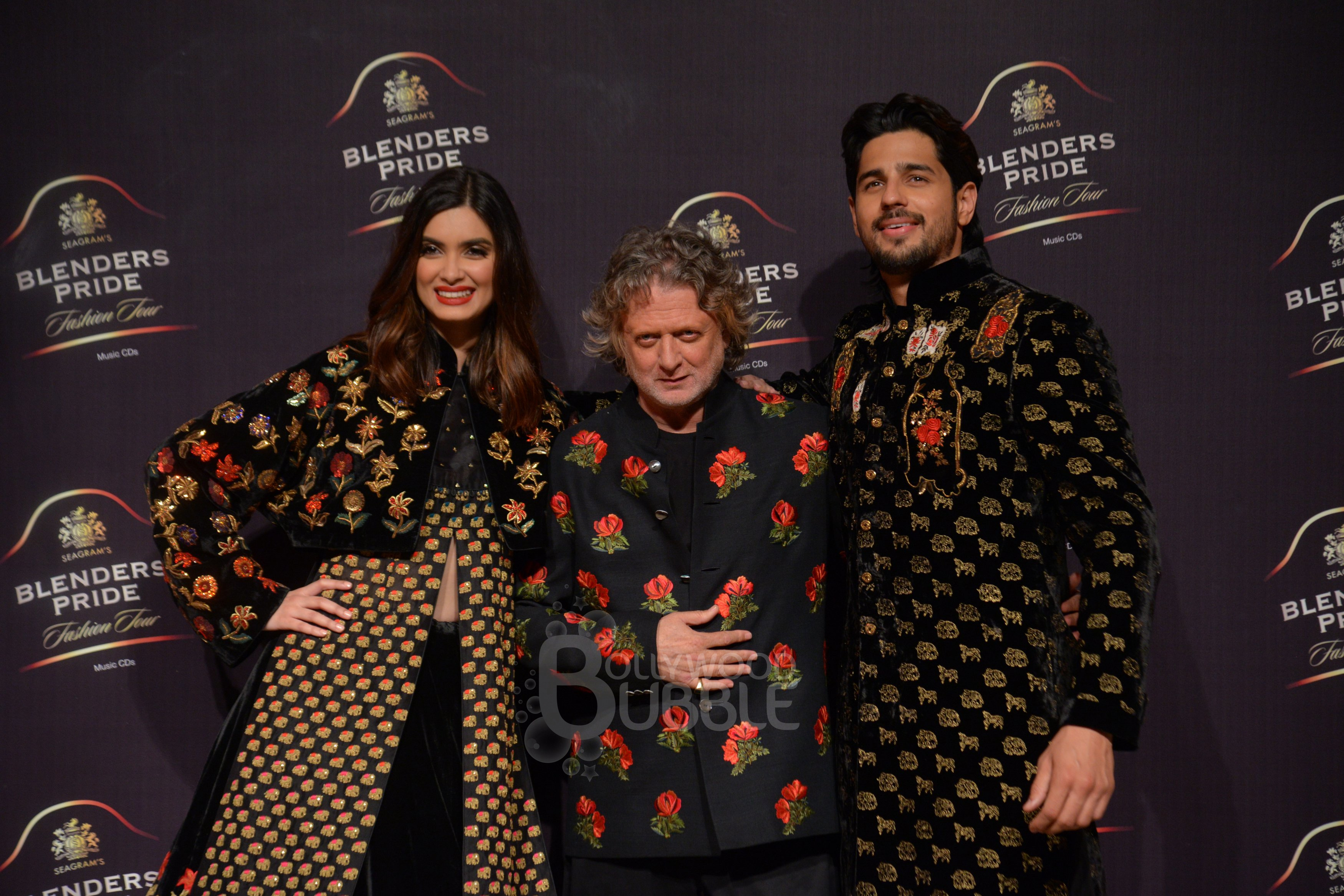 Sid, Diana and Rohit