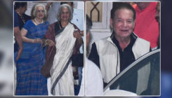 In Pics: Salim Khan, Waheeda Rehman, Asha Parekh and others attend special screening of 'Simmba'