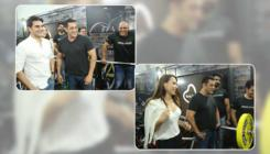 Pics: Salman Khan snapped at a fitness event with Arbaaz and Iulia
