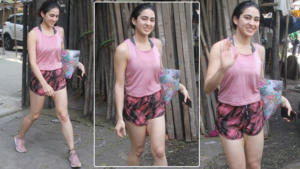 In Pics: Sara Ali Khan looks fresh and fit as she steps out of gym