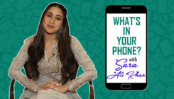 A fun segment 'What's On My Phone' with Sara Ali Khan