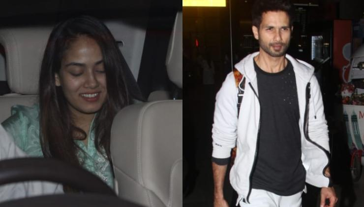 Pics: Shahid Kapoor and Mira Rajput's PDA at Mumbai airport is all things love