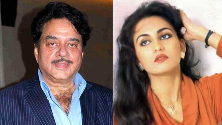 Shatrughan Sinha and Reena Roy