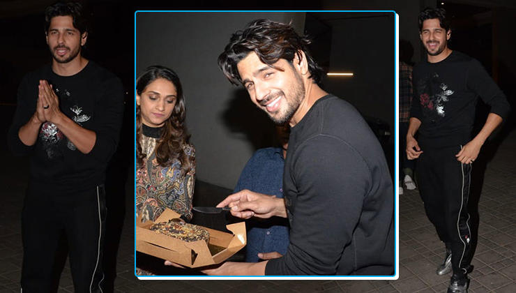 Birthday boy Sidharth Malhotra celebrates with media and fans