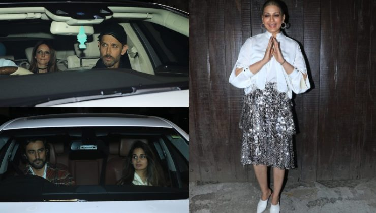 In Pics: Sonali Bendre rings in birthday with husband Goldie, Hrithik and Kunal Kapoor