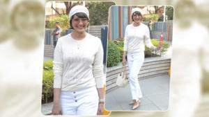 In Pics: Sonali Bendre spotted at Facebook office in Bandra