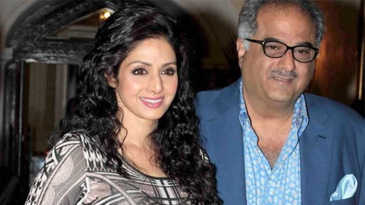 Late Sridevi and Boney Kapoor