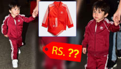 Tamiur Ali Khan's red Adidas tracksuit costs a bomb