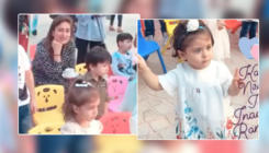 Watch: Little munchkins Taimur, Inaaya and Nisha Weber dance at a starry birthday bash