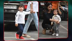 In Pics: Taimur and Inaaya's cuteness captured as they head for playschool