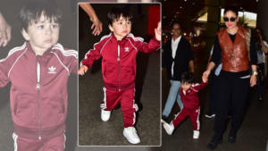 In Pics: Taimur in his sporty attire looks cool after his chilling Euro vacay
