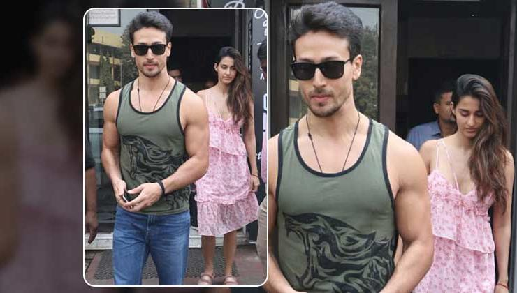 In Pics: Tiger Shroff takes alleged girlfriend Disha Patani out on a lunch date