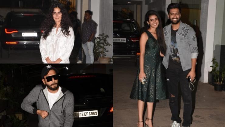 'Uri' screening: Varun, Ranveer, Katrina support the Vicky Kaushal starrer