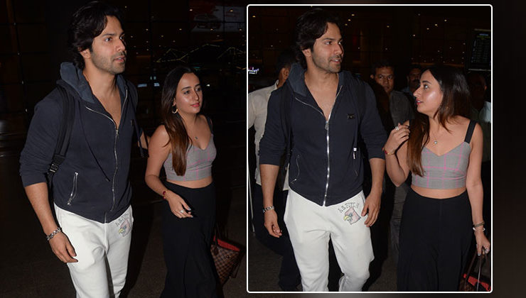 In Pics: Varun Dhawan and girlfriend Natasha Dalal are back after celebrating New Year together