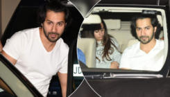 In Pics: Varun Dhawan and GF Natasha Dalal on a romantic date night