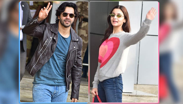 In Pics: Varun Dhawan and Alia Bhatt head to Gwalior for 'Kalank' shoot