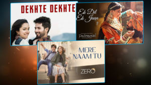 Top 5 Bollywood romantic songs of 2018